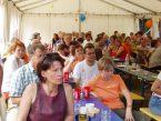 Gäste der 25 Jahr-Feier auf der Moret 2005